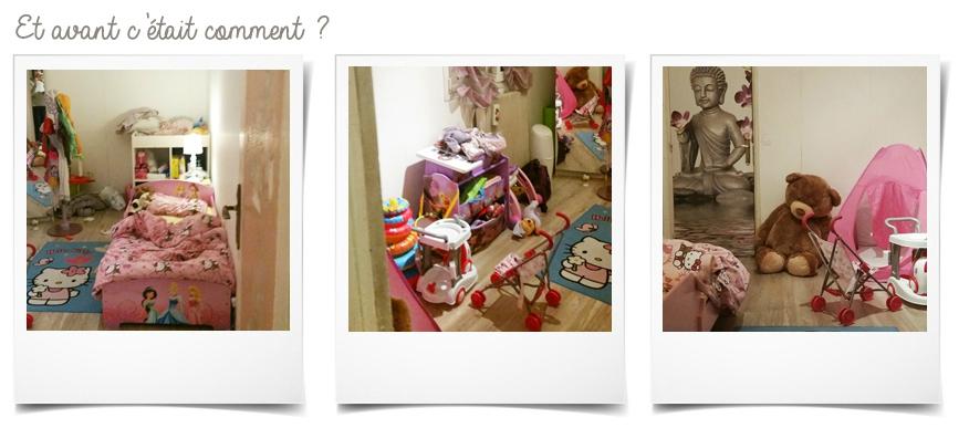Chambre de petite fille de 18 mois
