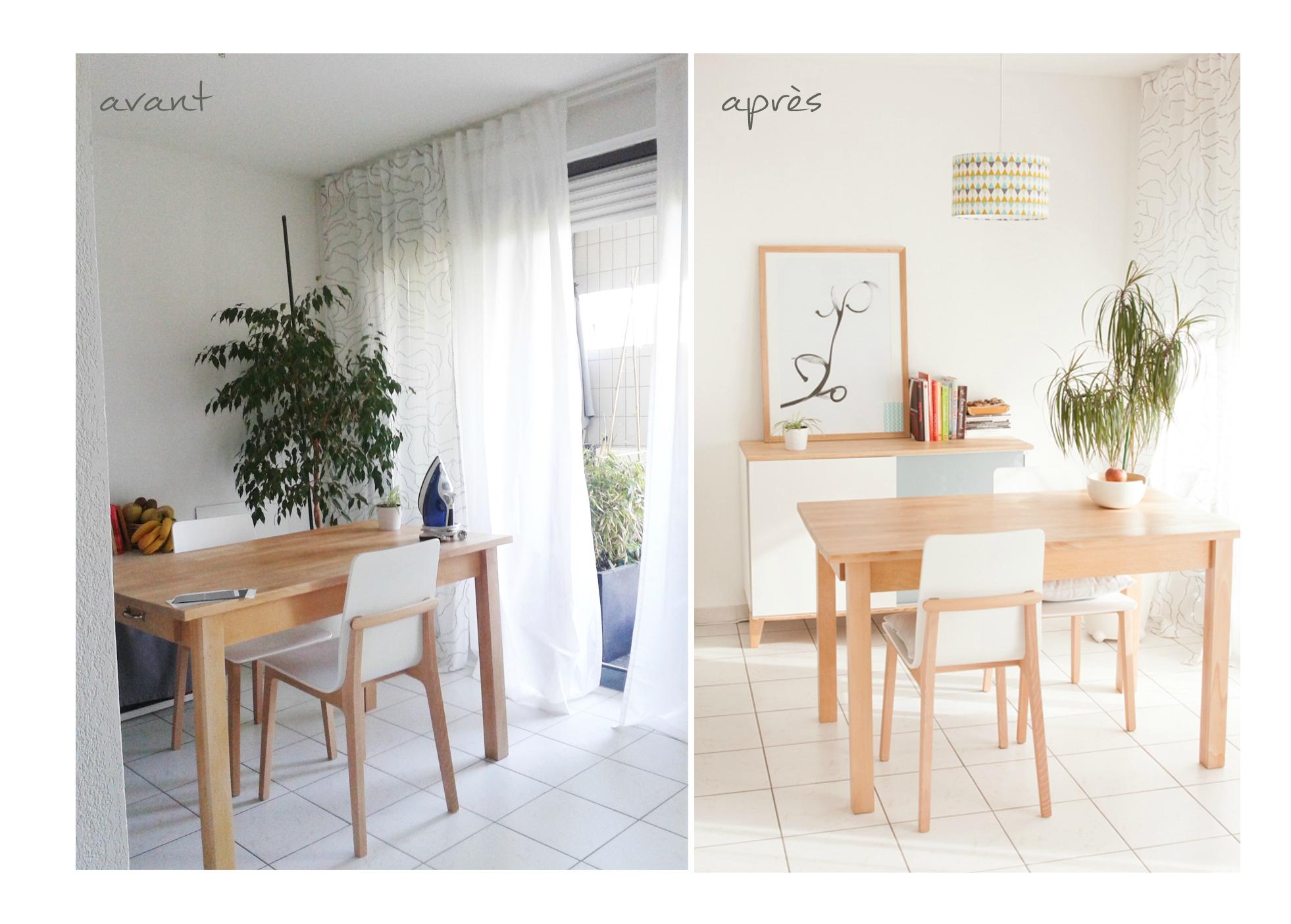 Photo Deco Avant Apres avant-après d'un salon (coaching par correspondance à 140€)