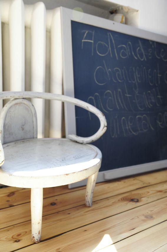 ancienne petite chaise