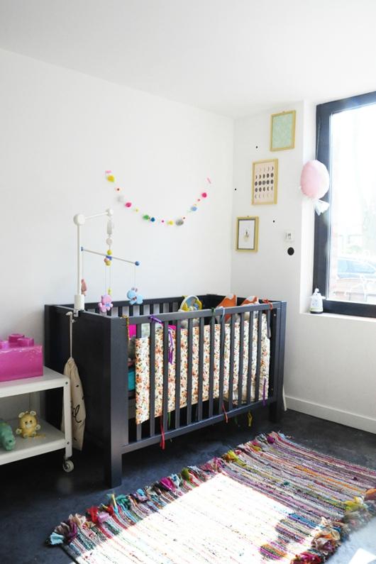 décoration chambre bébé loft