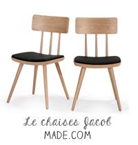chaises Jacob