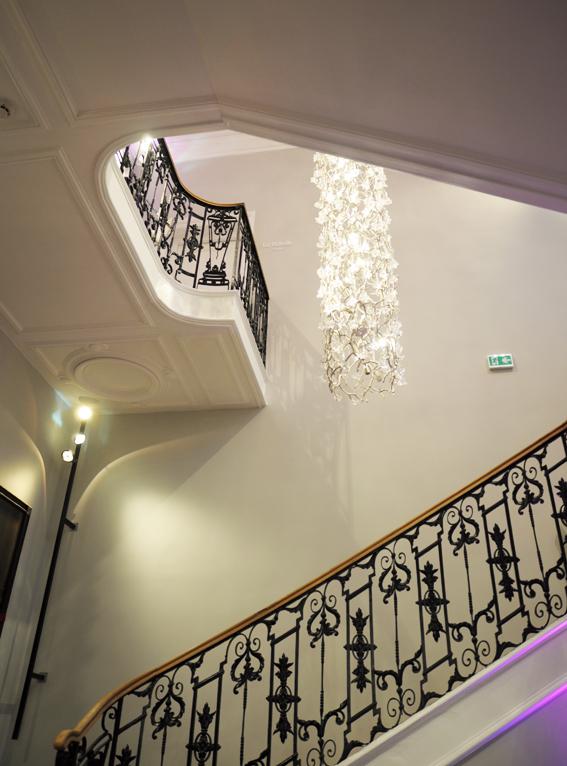 escalier hotel clarance