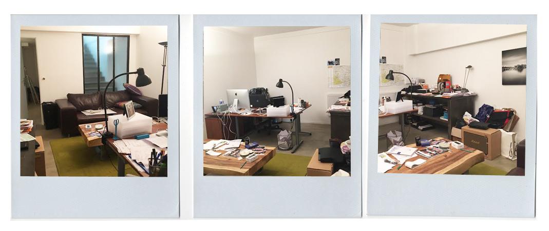 Un bureau au style loft indus boulogne billancourt for Salon industriel cosy