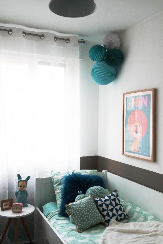 une chambre de petite fille avant apr s. Black Bedroom Furniture Sets. Home Design Ideas