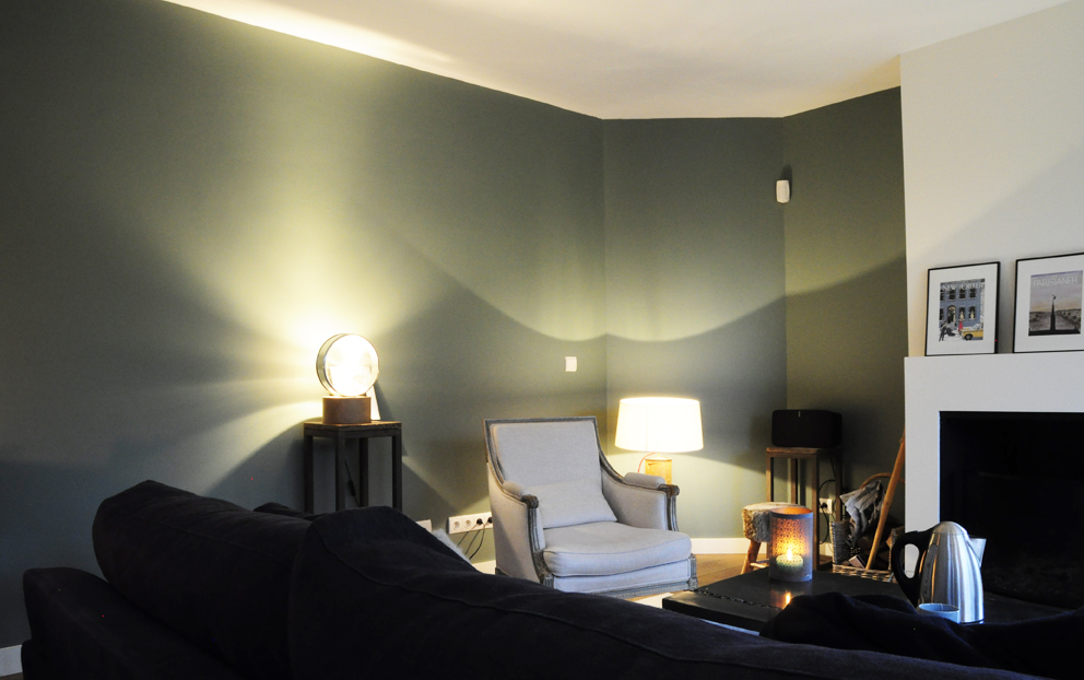 d couvrez la peinture card room green. Black Bedroom Furniture Sets. Home Design Ideas