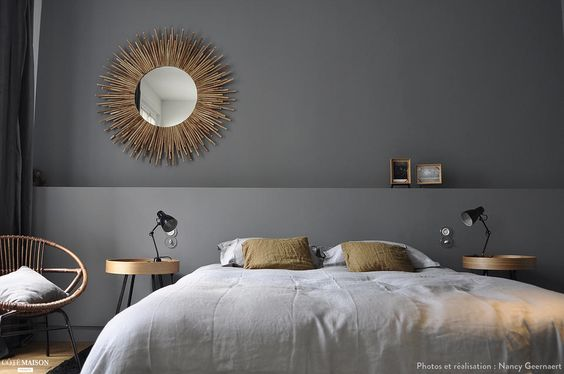 Une chambre villier sur marne - Tete de lit en placo ...