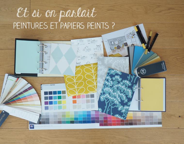 Un Atelier Autour De La Peinture Et Du Papier Peint Ça Vous Dit ?
