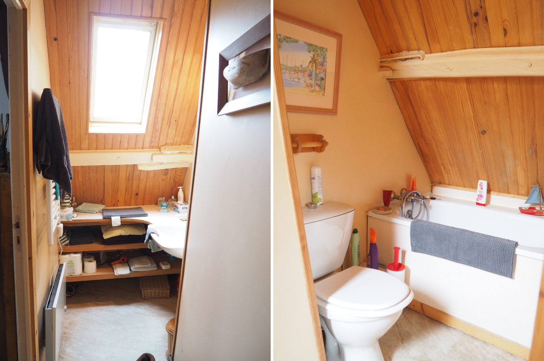 Revetement sol salle de bain saint maclou for Salle de bain avant apres