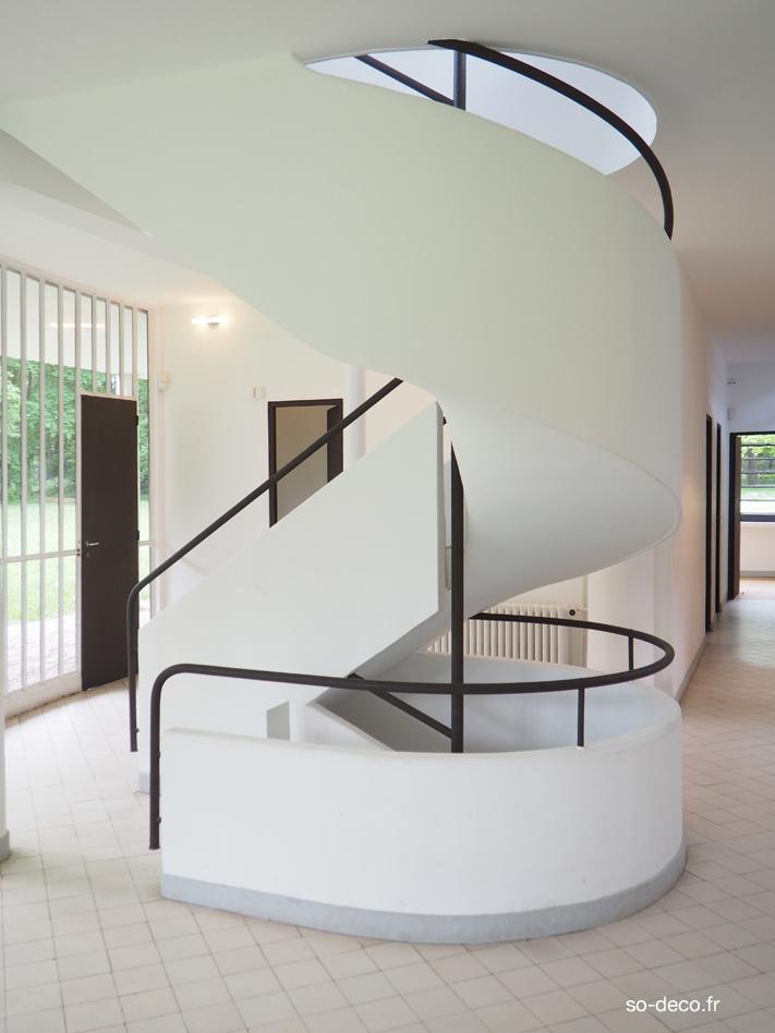 escalier-lecorbusier