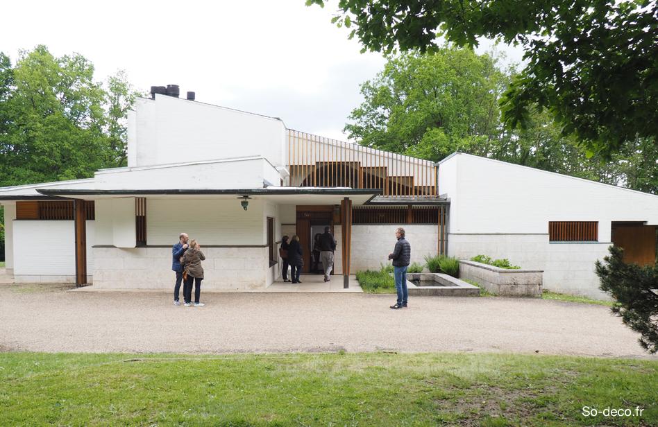 J ai visit la maison louis carr de alvar aalto for Alvar aalto maison