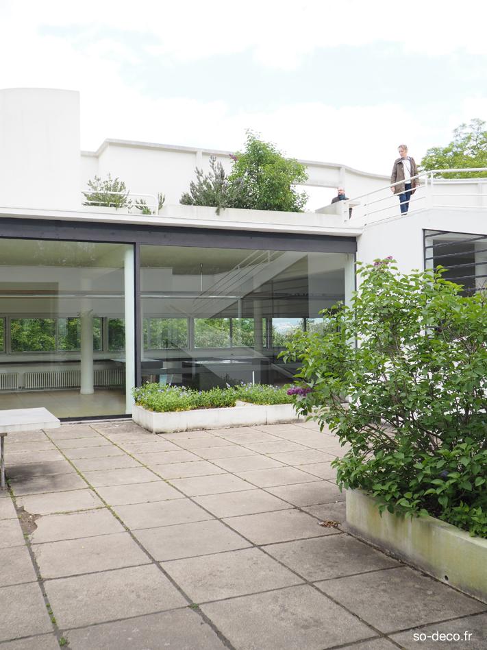 J u2019ai visit u00e9 la Villa Savoye de Le Corbusier
