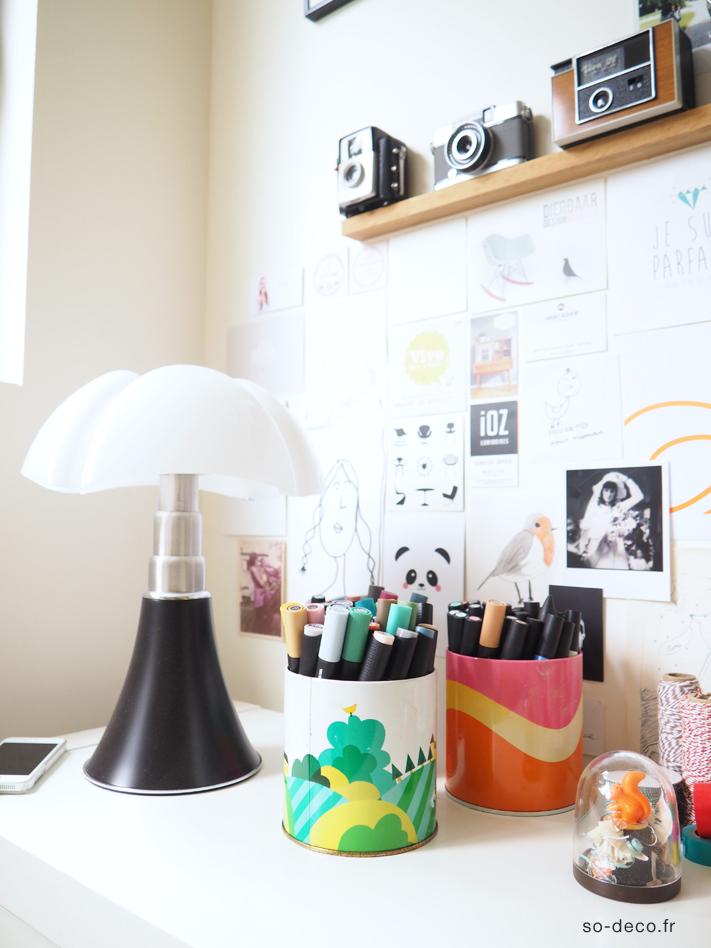 Mon bureau moi ou presque - Petite lampe pipistrello ...