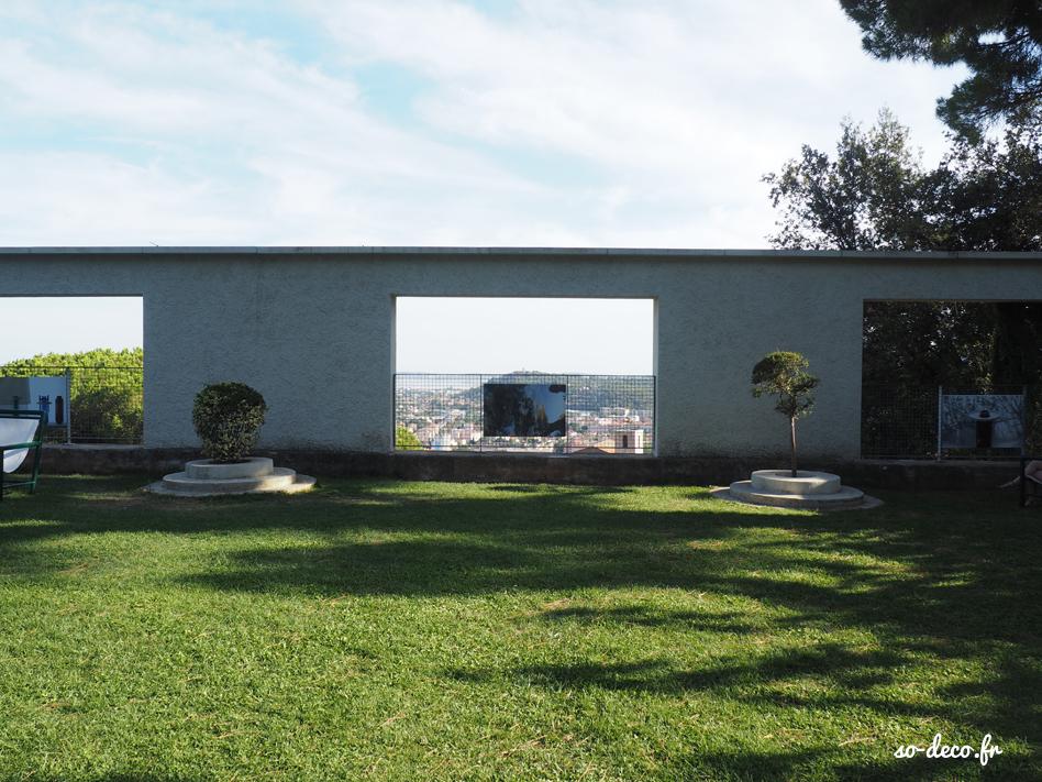 J ai visit la villa noailles for Jardin de petite villa