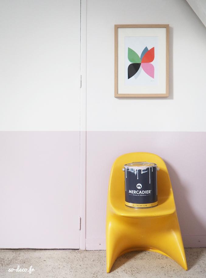 peinture-rose-chambre