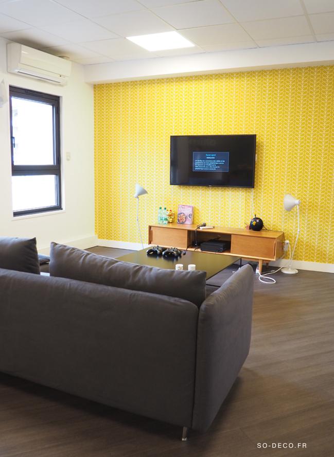 orla kiely papier peint gallery of sanderson orla kiely. Black Bedroom Furniture Sets. Home Design Ideas