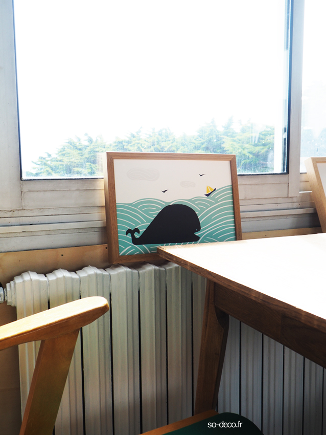 Elles proposentleurs créations de papeterie affiche tote bag mais aussi leurs sérigraphies si jolies et des objets de déco choisis pour leurs couleurs