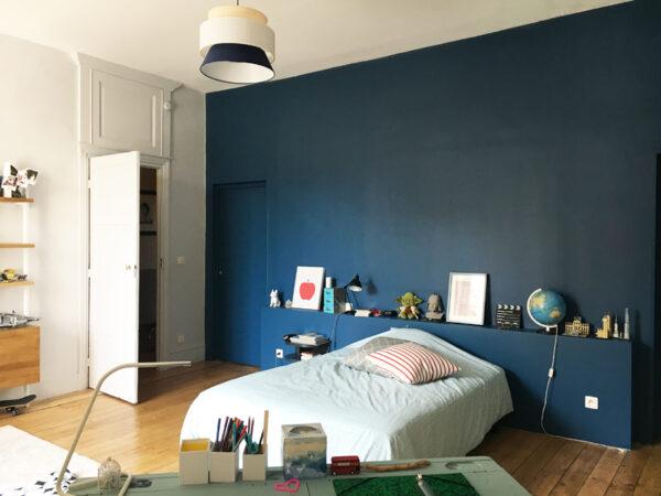 Une chambre de garçon (avant-après)