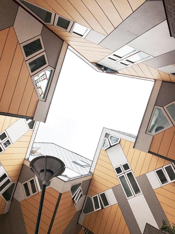 maisons cubiques
