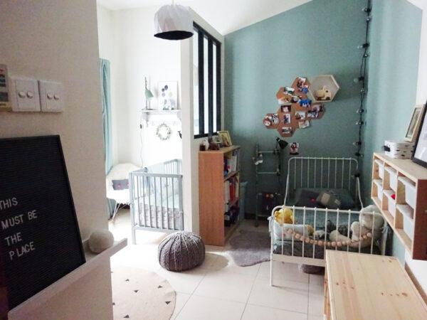Une chambre pour 2 enfants avant apr s - Amenagement chambre 2 enfants ...