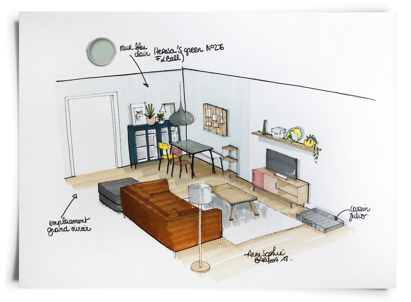 Amenagement De Salle A Manger donner du style à un salon / salle à manger